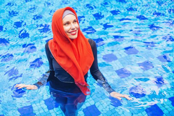 Burkini de baignade - Maillot de bain islamique